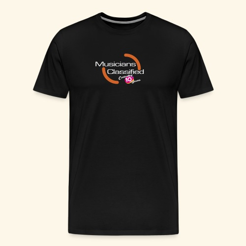 Mens Premium T-Shirt LTD ED 10 Year Anniversary  - Men's Premium T-Shirt