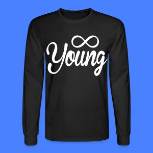 Forever Young Long Sleeve - stayflyclothing.com - Men's Long Sleeve T-Shirt