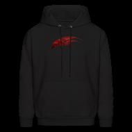 Hoodies ~ Men's Hoodie ~ Mcsportzhawk Hawk Hooded Sweatshirt