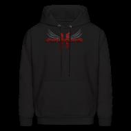 Hoodies ~ Men's Hoodie ~ Mcsportzhawk Wings Hooded Sweatshirt