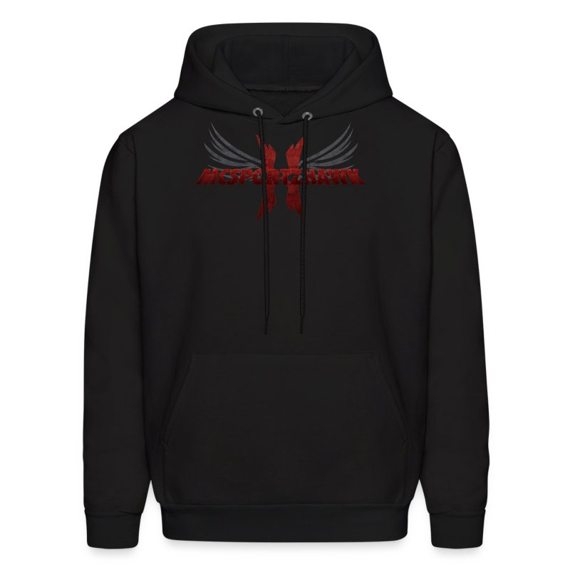 Mcsportzhawk Wings Hooded Sweatshirt - Men's Hoodie