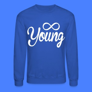 Forever Young Long Sleeve - stayflyclothing.com - Crewneck Sweatshirt