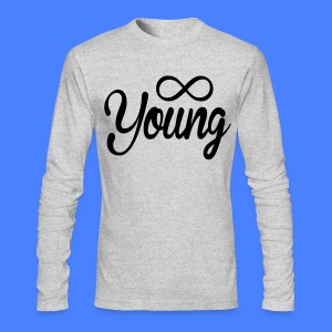 Forever Young Long Sleeve - stayflyclothing.com - Men's Long Sleeve T-Shirt by Next Level