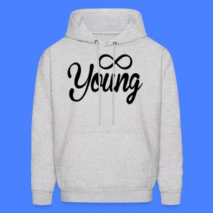Forever Young Hoodies - stayflyclothing.com - Men's Hoodie