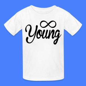 Forever Young Kids' Shirts - stayflyclothing.com - Kids' T-Shirt