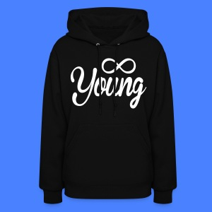 Forever Young Hoodies - stayflyclothing.com - Women's Hoodie