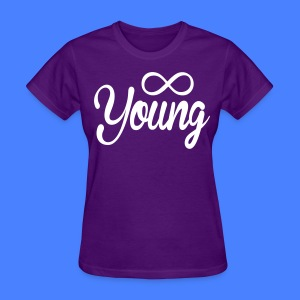Forever Young Women's - stayflyclothing.com - Women's T-Shirt