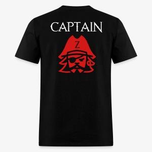 Captain Z Custom Shirt - Men's T-Shirt