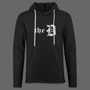 The Detroit Letter - Unisex Lightweight Terry Hoodie