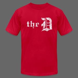 The Detroit Letter - Men's Fine Jersey T-Shirt