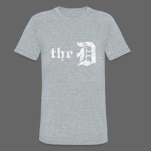 The Detroit Letter - Unisex Tri-Blend T-Shirt