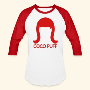 Coco Puff Baseball Tee - Baseball T-Shirt