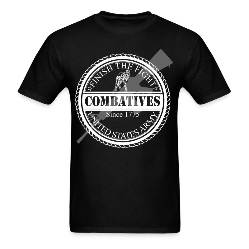 Finish The Fight Army Combatives Design T Shirt Spreadshirt