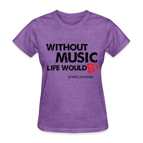 without music - Women's T-Shirt