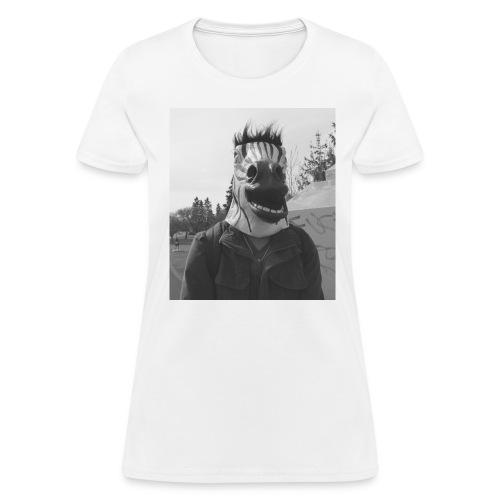Zebra Shirt (Women) - Women's T-Shirt