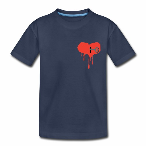 Key to My Heart - Kids' Premium T-Shirt