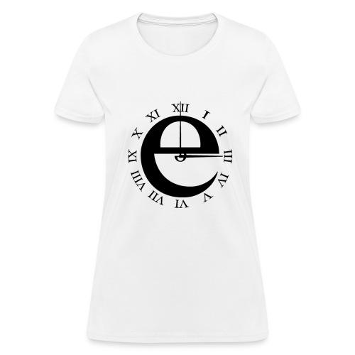 Classic Clock (Women) - Women's T-Shirt