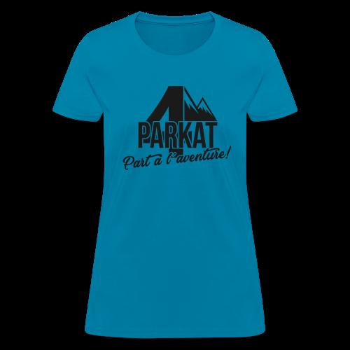 4Parkat Part à l'aventure noir fille - Women's T-Shirt