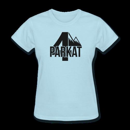 4Parkat Noir fille - Women's T-Shirt