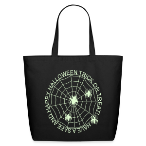 Happy Halloween Glow in the Dark - Eco-Friendly Cotton Tote