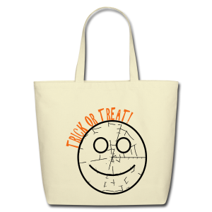 Trick or treat  - Eco-Friendly Cotton Tote