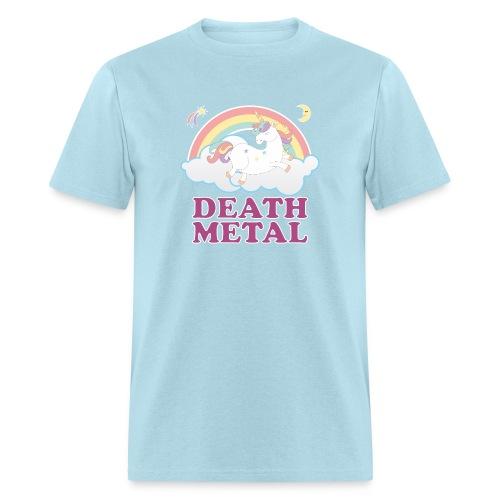Death Metal Unicorn - Men's T-Shirt