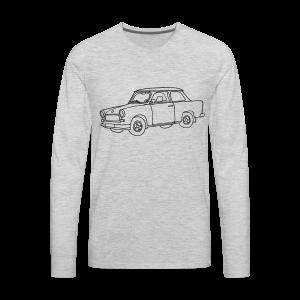 Car (Trabant) - Men's Premium Long Sleeve T-Shirt
