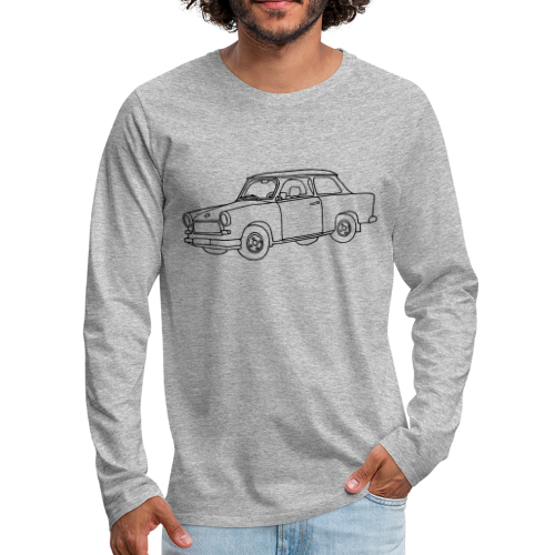 Car (Trabant) - Men's Premium Long Sleeve T-Shirt
