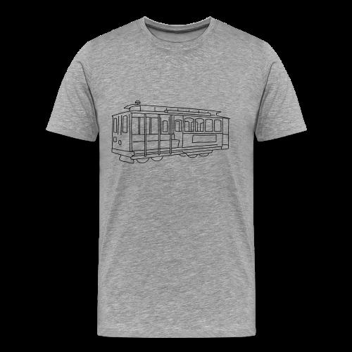 San Francisco Cable Car - Men's Premium T-Shirt