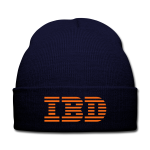 BD IBD Cap (US) - Knit Cap with Cuff Print