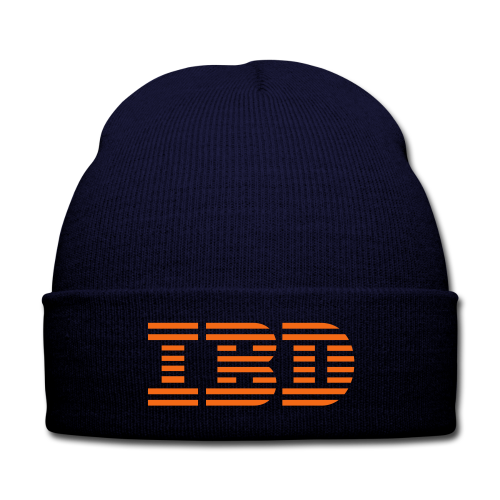 BD IBD Cap (US) - Knit Cap with Cuff Print