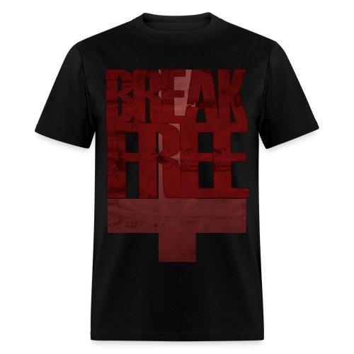BREAK FREE  - Men's T-Shirt
