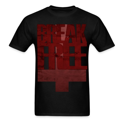 BREAK FREE  - Men's T-Shirt