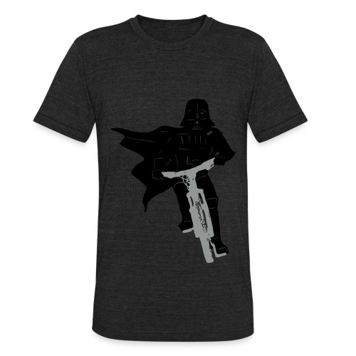 Biker Vader - Unisex Tri-Blend T-Shirt by American Apparel