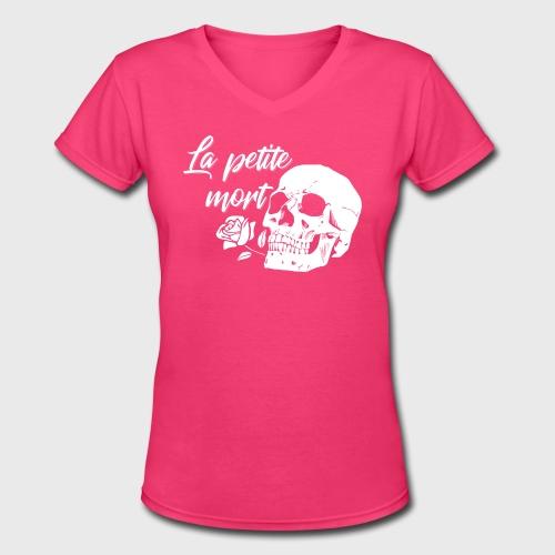 La Petit Mort  - Women's V-Neck T-Shirt