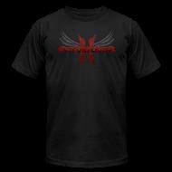 T-Shirts ~ Men's T-Shirt by American Apparel ~ Mcsportzhawk Wings
