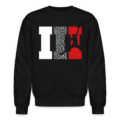 III SweatShirt Black - Crewneck Sweatshirt