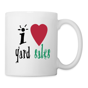 I heart yard sales - Coffee/Tea Mug