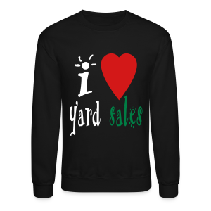 I heart yard sales - Crewneck Sweatshirt