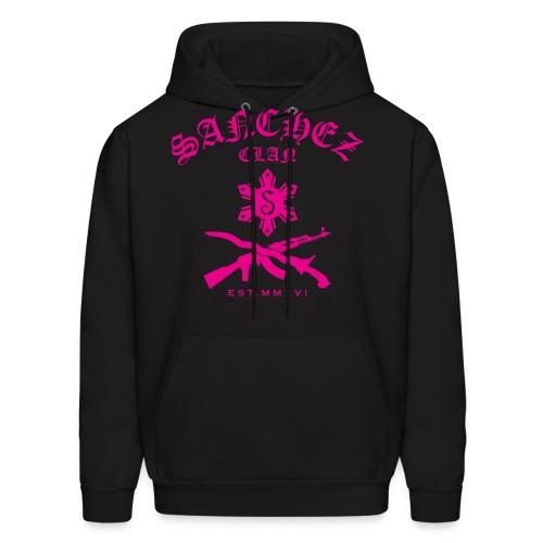 Aimee Pink Sanchez Clan Hoodie - Men's Hoodie