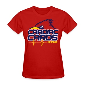 Cardiac Cards 12 in 12 Women - Women's T-Shirt