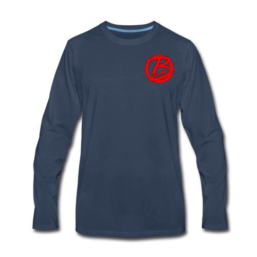 XBRIANGFX LONG SLEEVE SHIRT - Men's Premium Long Sleeve T-Shirt