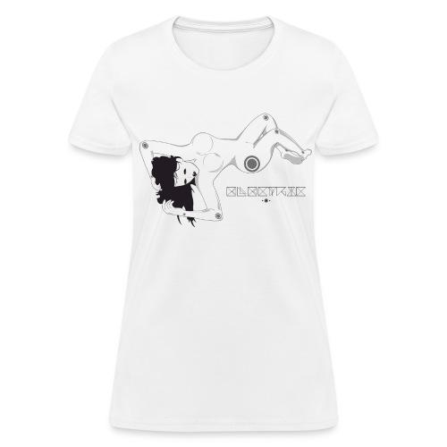 'Electric Lady' Slay Tee - Women's T-Shirt