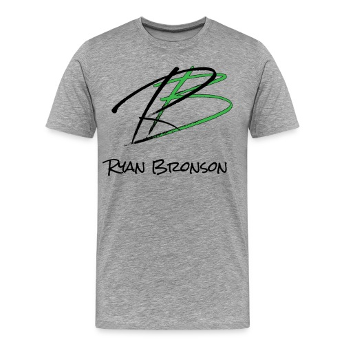 Ryan Bronson Tee - Grey - Men's Premium T-Shirt