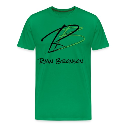 Ryan Bronson Tee - Green - Men's Premium T-Shirt