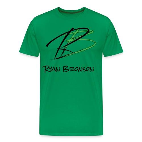 Ryan Bronson Tee - Green - Men's Premium T-Shirt