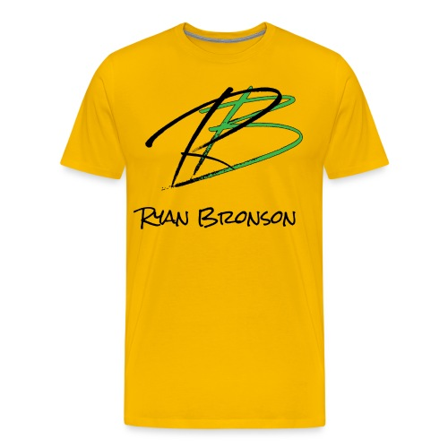 Ryan Bronson Tee - Yellow - Men's Premium T-Shirt