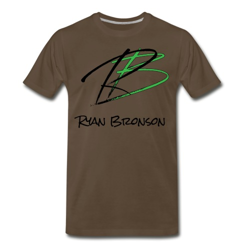 Ryan Bronson Tee - Brown - Men's Premium T-Shirt