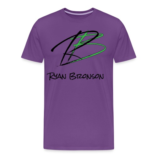 Ryan Bronson Tee - Purple - Men's Premium T-Shirt
