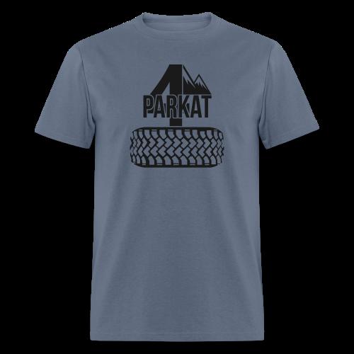 4Parkat Tire - Men's T-Shirt
